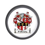 O'Murphy Coat of Arms Wall Clock