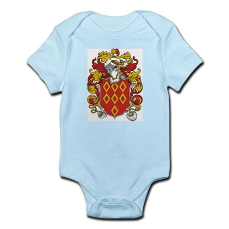 Quincy Coat of Arms Infant Creeper