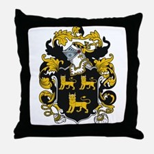 Radford Coat of Arms Throw Pillow