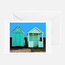 Beach Hut 6 Greeting Cards (Pk of 10)