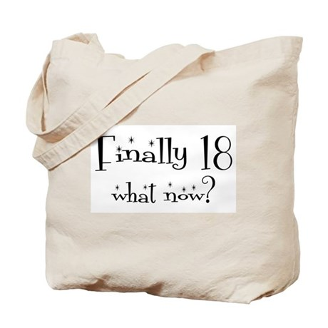 Finally 18 Tote Bag