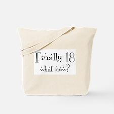 Finally 18 Tote Bag