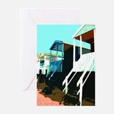 Beach Hut 8 Greeting Cards (Pk of 10)