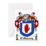O'Mulrony Family Crest Greeting Cards (Package of