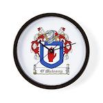 O'Mulrony Family Crest Wall Clock