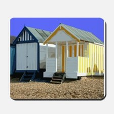 Beach Hut 9 Mousepad