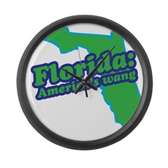 Florida: America's Wang Large Wall Clock