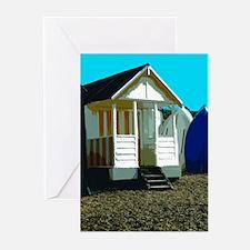 Beach Hut 12 Greeting Cards (Pk of 10)