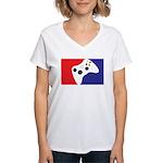 Major League 360 Women's V-Neck T-Shirt