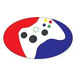 Major League 360 Sticker (Oval 10 pk)