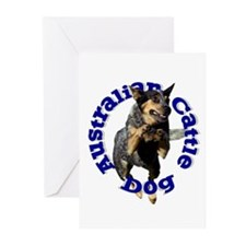 Cattle Dog House Greeting Cards (Pk of 10)