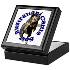 Cattle Dog House Keepsake Box