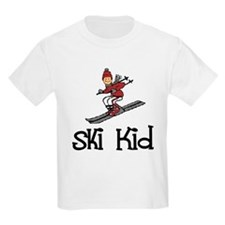 Ski Kid Christopher Kids T-Shirt