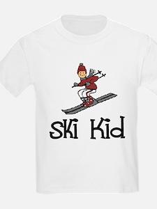 Ski Kid Christopher Kids T-Shirt