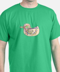 Subway Map T-Shirt