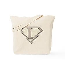 Super Vintage L Logo Tote Bag