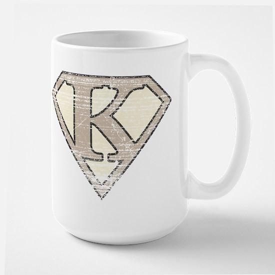 Super Vintage K Logo Large Mug