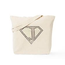 Super Vintage J Logo Tote Bag