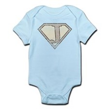Super Vintage J Logo Infant Bodysuit