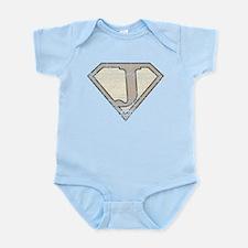 Super Vintage J Logo Infant Bodysuit
