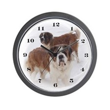 Saint Bernard Wall Clock