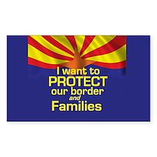 Protect Families Arizona Decal