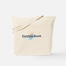 Carolina Beach NC - Seashells Design Tote Bag