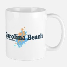 Carolina Beach NC - Seashells Design Mug