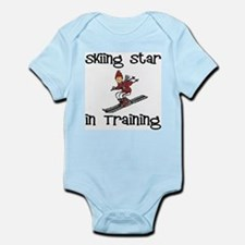 Skiing Star in Training Christopher Infant Creeper