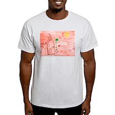 Morgan Pallas Ash Grey T-Shirt