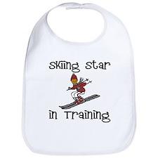 Skiing Star in Training Daniel Bib