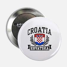 """Croatia Hrvatska 2.25"""" Button"""