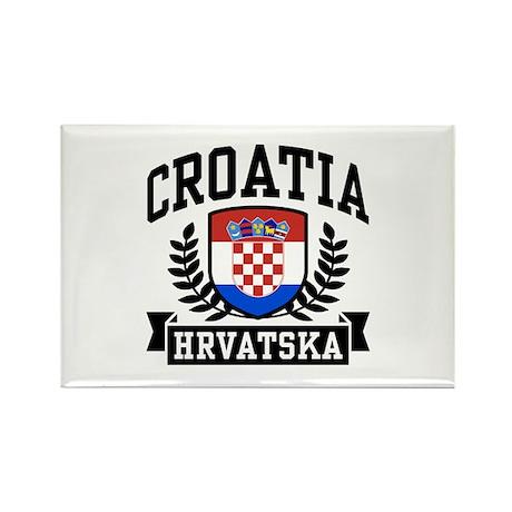 Croatia Hrvatska Rectangle Magnet