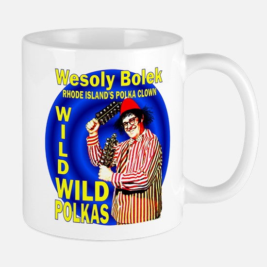 Wild Polka Clown Mug