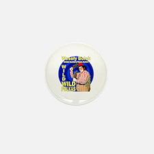 Wild Polka Clown Mini Button (10 pack)