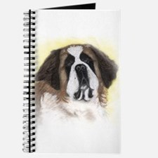 Saint Bernard in pastel Journal