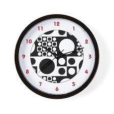 Mod Dots Wall Clock