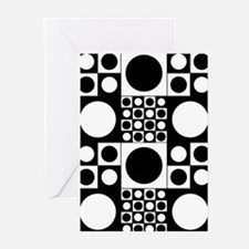 Mod Dots Greeting Cards (Pk of 10)