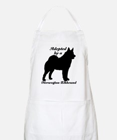 ADOPTED Norwegian Elkhound BBQ Apron