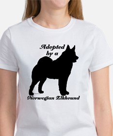ADOPTED Norwegian Elkhound Women's T-Shirt