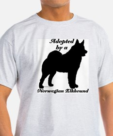 ADOPTED Norwegian Elkhound T-Shirt
