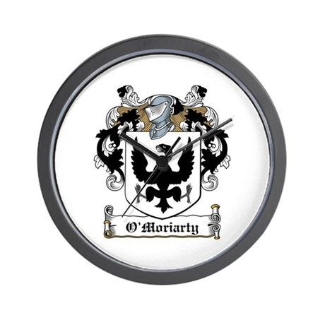 O'Moriarty Coats of Arms Wall Clock
