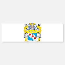 Pullen Family Crest - Coat of Arms Bumper Bumper Bumper Sticker
