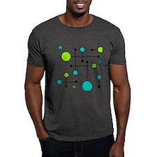 Lime & Teal Dot Dash T-Shirt