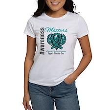 AwarenessMatters TealRibbon Tee