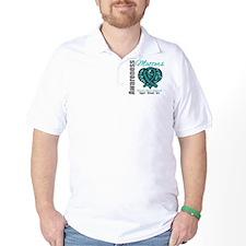 AwarenessMatters TealRibbon T-Shirt