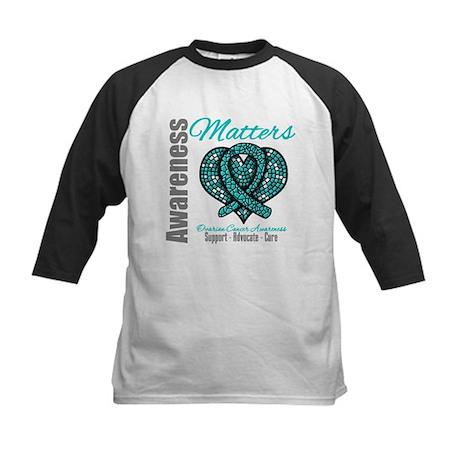 AwarenessMatters TealRibbon Kids Baseball Jersey