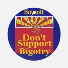 Arizona Bigotry Ornament (Round)