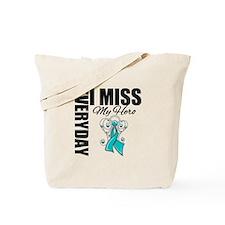 MissMyHero OvarianCancer Tote Bag