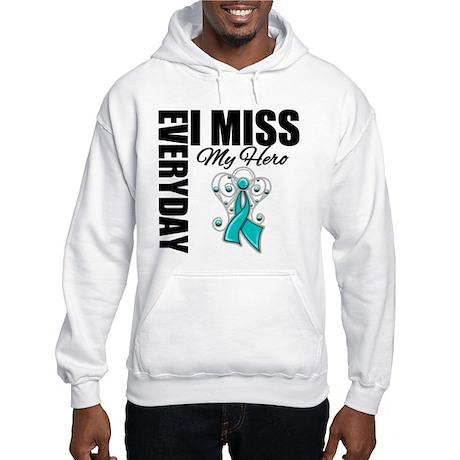 MissMyHero OvarianCancer Hooded Sweatshirt